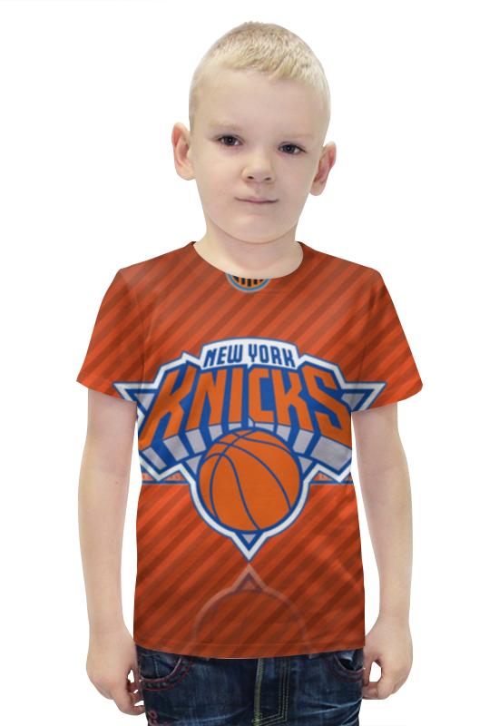 Футболка с полной запечаткой для мальчиков Printio Нью-йорк никс нью йорк