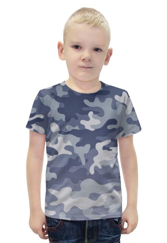 Футболка с полной запечаткой для мальчиков Printio Камуфляж футболка с полной запечаткой для мальчиков printio пртигр arsb