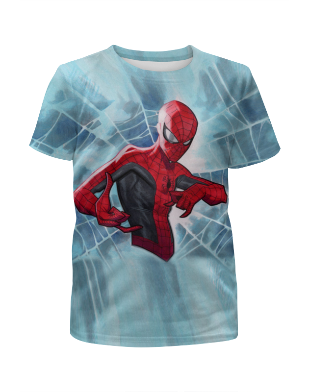 Футболка с полной запечаткой для мальчиков Printio Человек паук футболка с полной запечаткой для мальчиков printio человек паук миньон