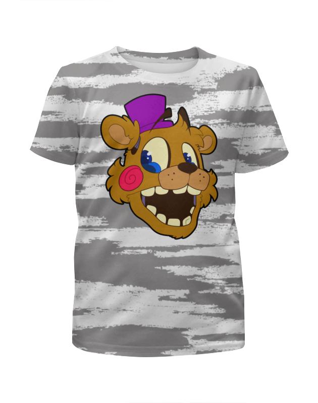 Printio Пять ночей у фредди (freddy) футболка с полной запечаткой для девочек printio пять ночей у фредди freddy
