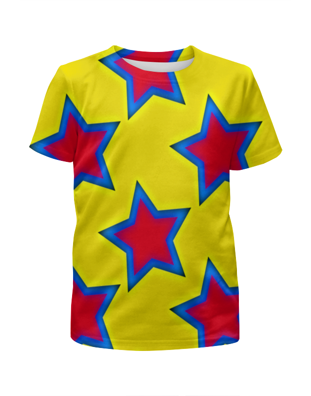 Футболка с полной запечаткой для мальчиков Printio Звезды футболка с полной запечаткой для мальчиков printio braaaaatnsssss
