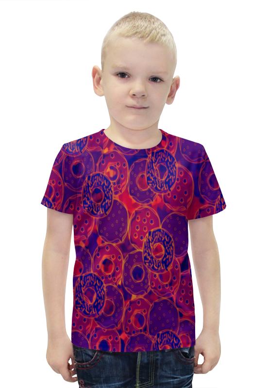 Футболка с полной запечаткой для мальчиков Printio Сладости-радости футболка с полной запечаткой для мальчиков printio bats spawn arsb