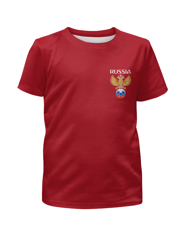 Футболка с полной запечаткой для мальчиков Printio Сборная россии футболка с полной запечаткой для мальчиков printio сборная россии по футболу