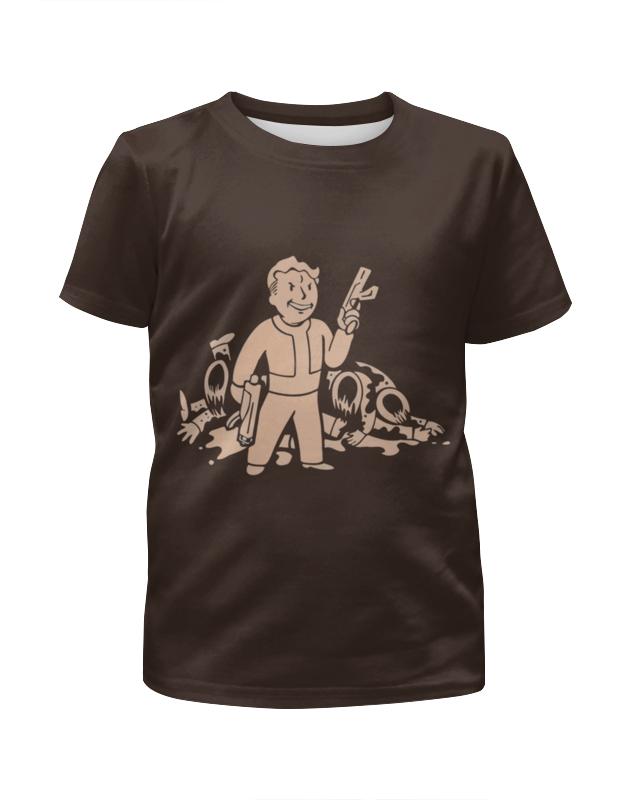 Футболка с полной запечаткой для мальчиков Printio Fallout футболка с полной запечаткой для девочек printio fallout