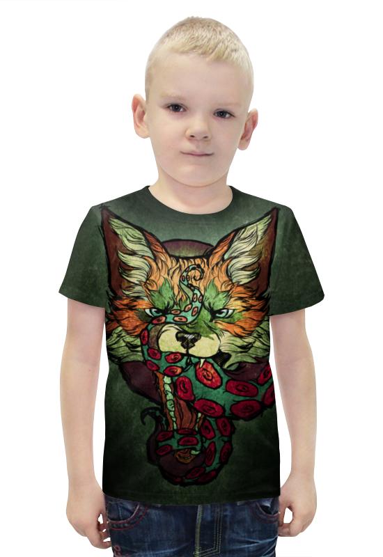 Футболка с полной запечаткой для мальчиков Printio Fox001 футболка с полной запечаткой для мальчиков printio фруктовая