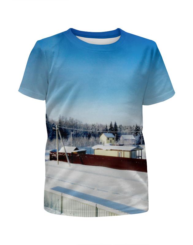 Printio Зима. мороз. солнце. футболка с полной запечаткой для мальчиков printio зима мороз солнце