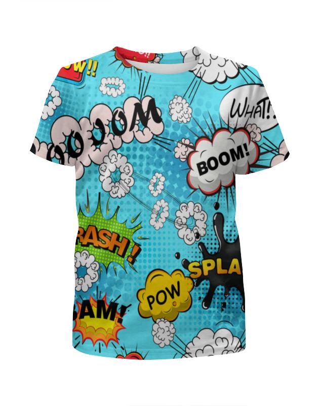 Футболка с полной запечаткой для мальчиков Printio Boom bang футболка с полной запечаткой для мальчиков printio bats spawn arsb