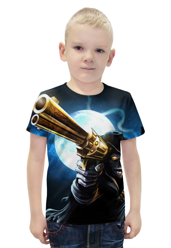 Футболка с полной запечаткой для мальчиков Printio Скелет футболка с полной запечаткой для мальчиков printio bats spawn arsb