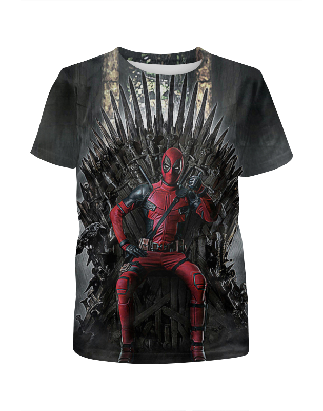 Футболка с полной запечаткой для мальчиков Printio Deadpool футболка с полной запечаткой для мальчиков printio дефстроук ликвидатор