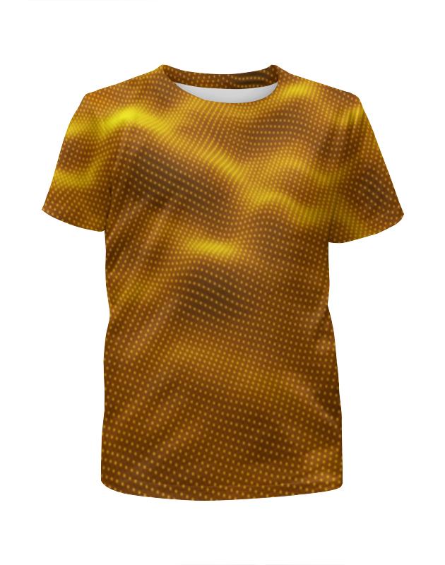 Футболка с полной запечаткой для мальчиков Printio Dynamic waves футболка с полной запечаткой для мальчиков printio bats spawn arsb