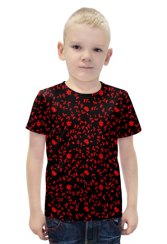 Футболка с полной запечаткой для мальчиков Printio Листочки футболка с полной запечаткой для мальчиков printio bats spawn arsb