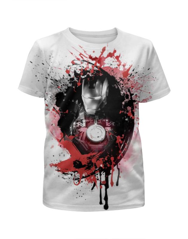 Футболка с полной запечаткой для мальчиков Printio Железный человек футболка с полной запечаткой для мальчиков printio железный человек