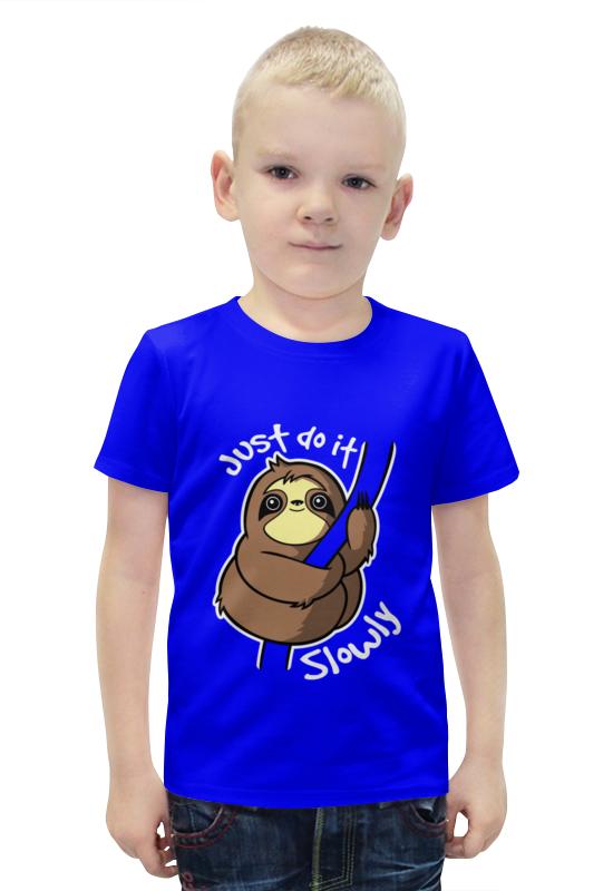 Футболка с полной запечаткой для мальчиков Printio Ленивец футболка с полной запечаткой для мальчиков printio bats spawn arsb