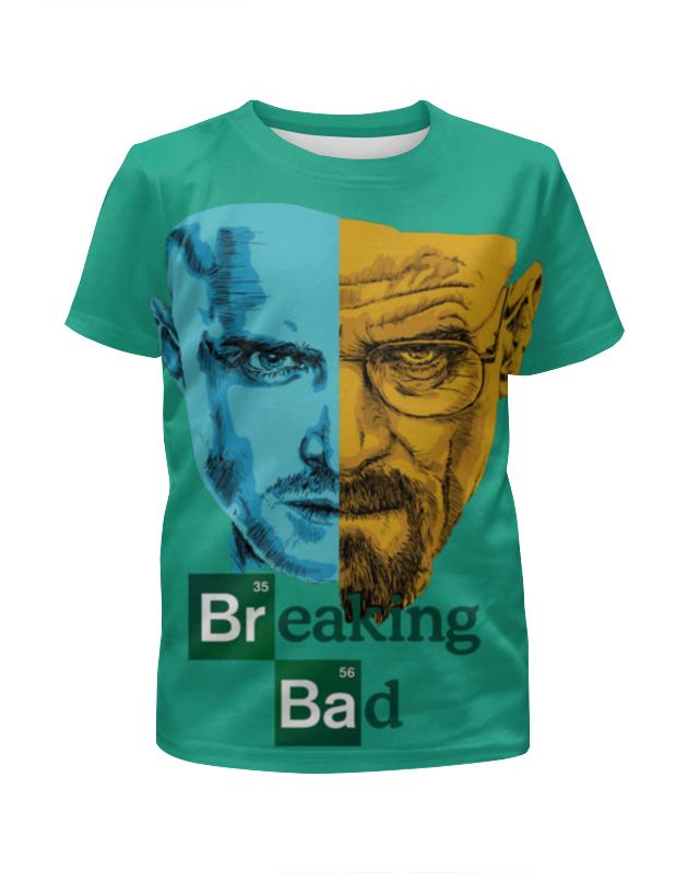 Футболка с полной запечаткой для мальчиков Printio Breaking bad/во все тяжкие футболка с полной запечаткой для мальчиков printio breaking bad