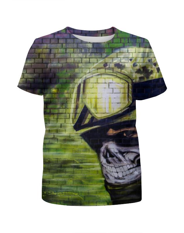 Футболка с полной запечаткой для мальчиков Printio Солдат футболка для беременных printio неизвестный солдат