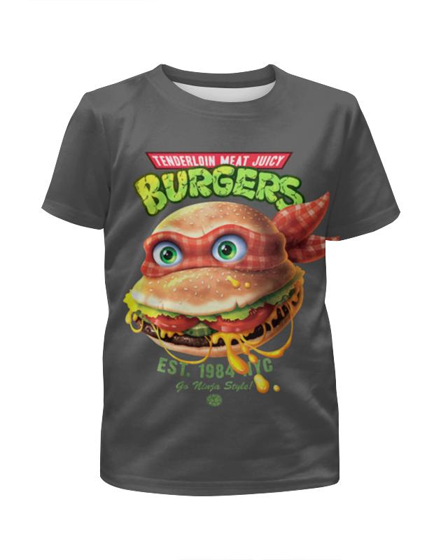 Футболка с полной запечаткой для мальчиков Printio Burgers мат плата для пк supermicro mbd x10drh it o 2 х socket 2011 3 c612 16xddr4 1xpci e 16x 6xpci e 8x 10xsataiii eatx retail