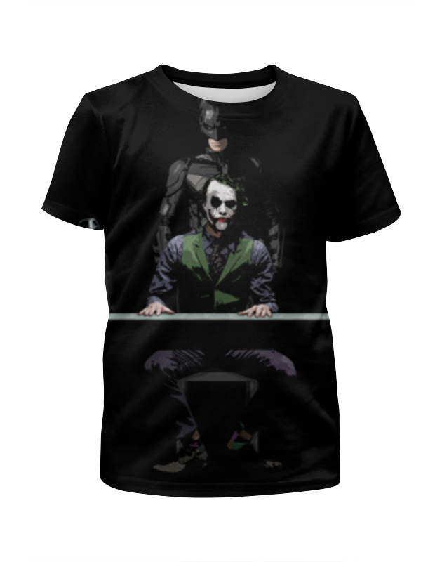 лучшая цена Printio Бэтмен и джокер