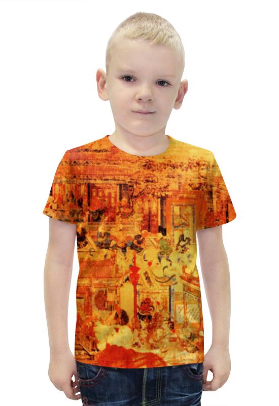 Футболка с полной запечаткой для мальчиков Printio Шаолинь футболка с полной запечаткой printio важнейшее из искусств мужская