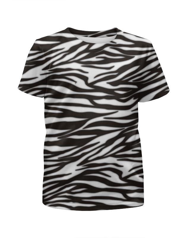 Футболка с полной запечаткой для мальчиков Printio Зебра футболка с полной запечаткой для мальчиков printio braaaaatnsssss