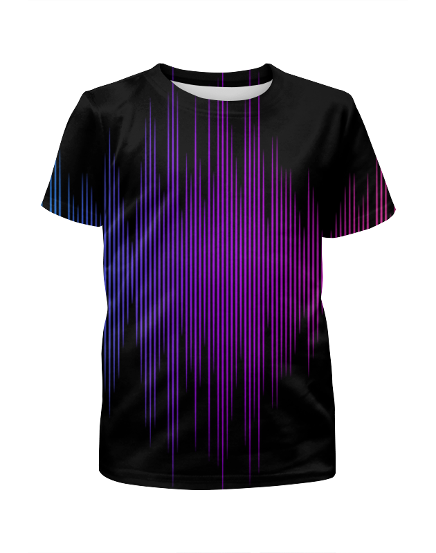 Фото - Футболка с полной запечаткой для мальчиков Printio Звуковая волна футболка с полной запечаткой для мальчиков printio большая волна