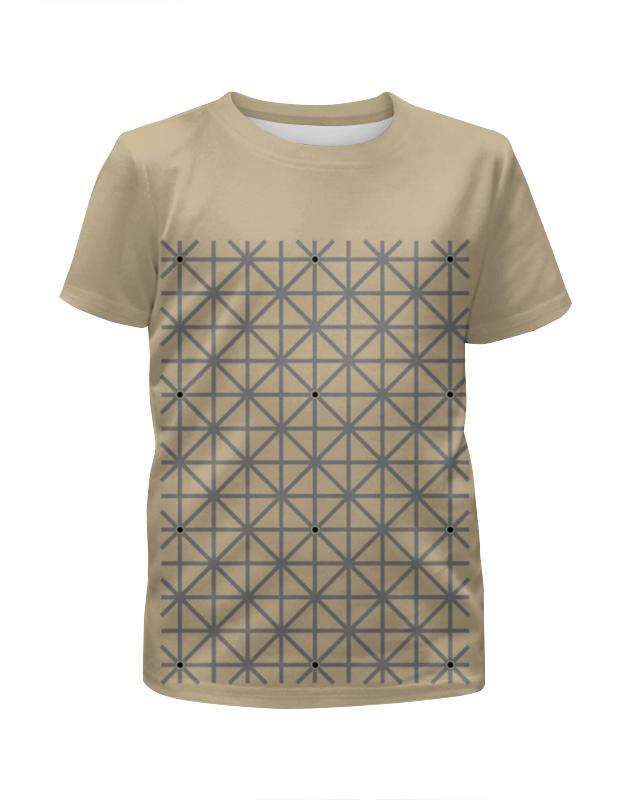 Футболка с полной запечаткой для мальчиков Printio Оптическая иллюзия футболка с полной запечаткой для девочек printio иллюзия