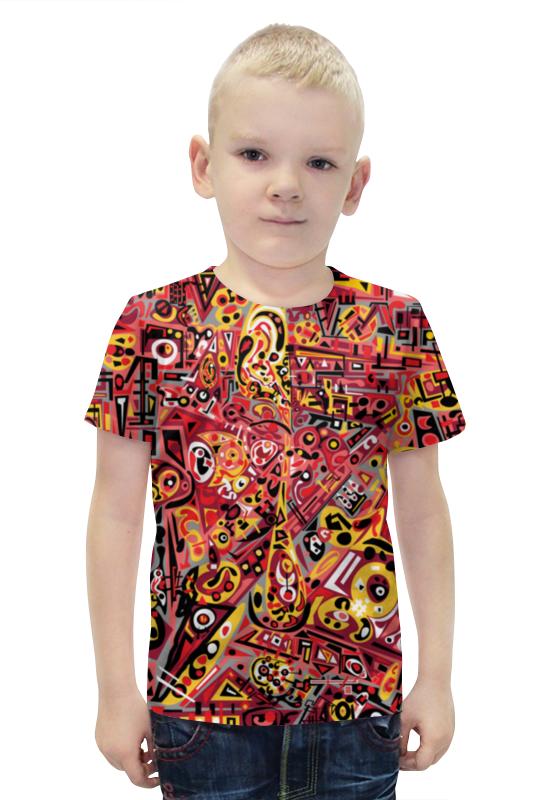 Футболка с полной запечаткой для мальчиков Printio Zdermm431 футболка с полной запечаткой для мальчиков printio bats spawn arsb