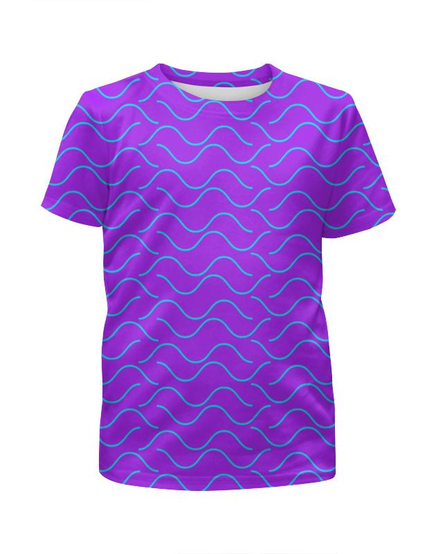 Футболка с полной запечаткой для мальчиков Printio Морская волна футболка с полной запечаткой для мальчиков printio bats spawn arsb