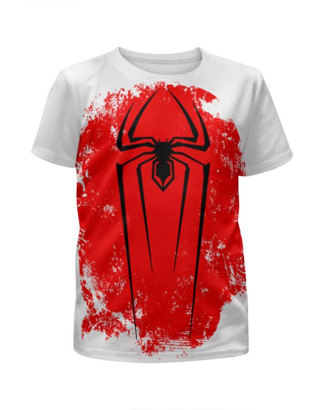 Футболка с полной запечаткой для мальчиков Printio Человек-паук (spider-man) футболка с полной запечаткой для мальчиков printio человек паук миньон