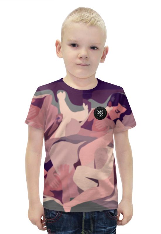 Футболка с полной запечаткой для мальчиков Printio Slove arsb футболка с полной запечаткой printio bats spawn arsb