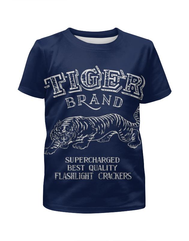 Футболка с полной запечаткой для мальчиков Printio Tiger brand комплект одежды для мальчиков brand 2015 81