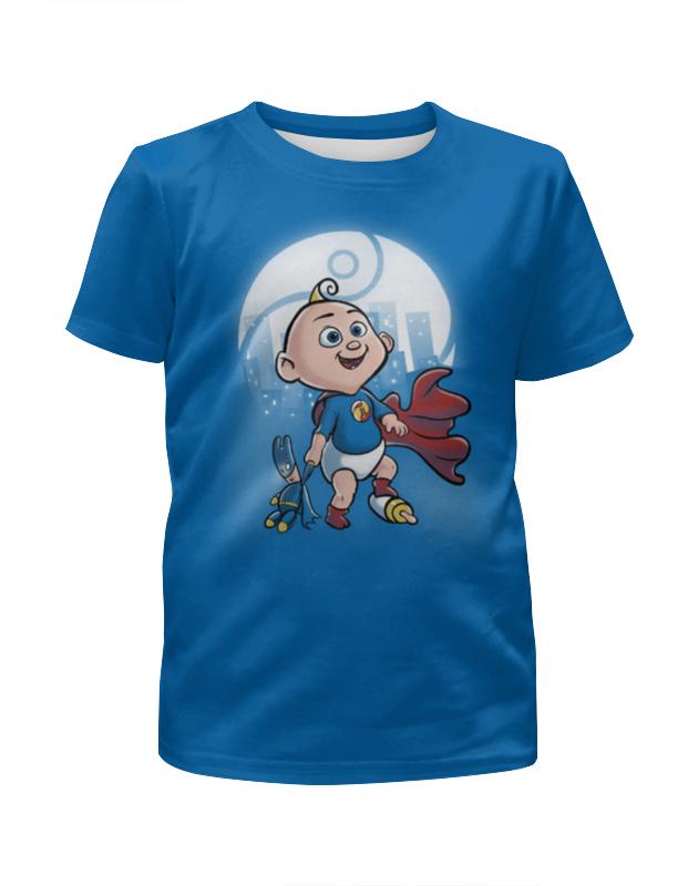 Футболка с полной запечаткой для мальчиков Printio Маленький суперменчик футболка с полной запечаткой для мальчиков printio bats spawn arsb