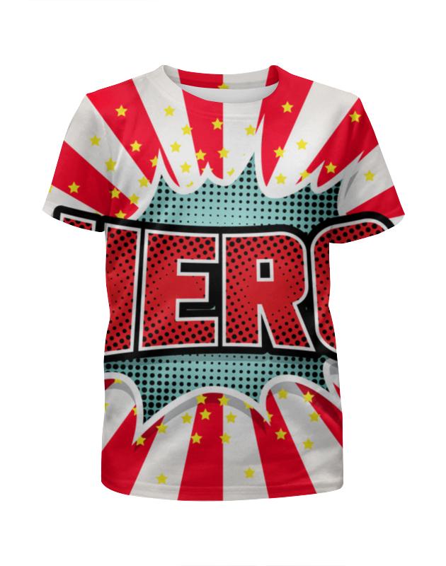 Футболка с полной запечаткой для мальчиков Printio Heroo футболка с полной запечаткой для девочек printio heroo