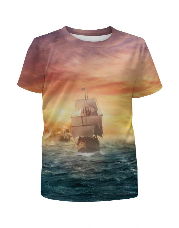 Футболка с полной запечаткой для мальчиков Printio Морские приключения футболка с полной запечаткой для мальчиков printio морские глубины