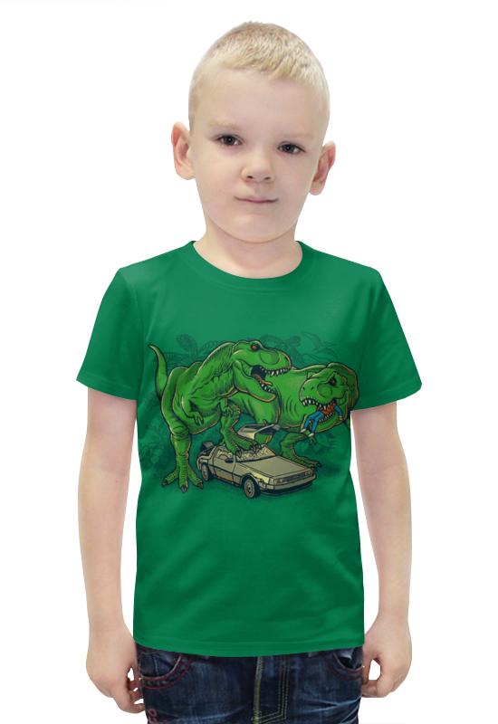 Футболка с полной запечаткой для мальчиков Printio Динозавры футболка с полной запечаткой для мальчиков printio bats spawn arsb