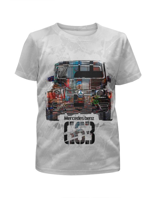 Футболка с полной запечаткой для мальчиков Printio Mercedes benz g-класс (гелендваген) футболка с полной запечаткой для мальчиков printio mercedes benz amg гелендваген