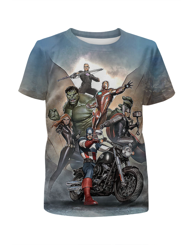 Printio Твои супергерои футболка с полной запечаткой для мальчиков printio супергерои