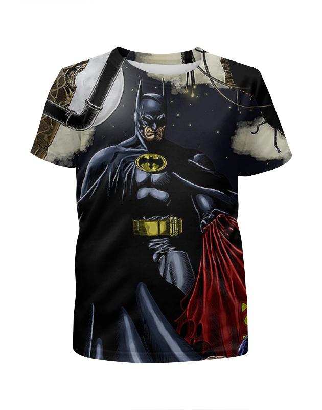 Printio Batman бэтмен футболка с полной запечаткой для мальчиков printio batman forever