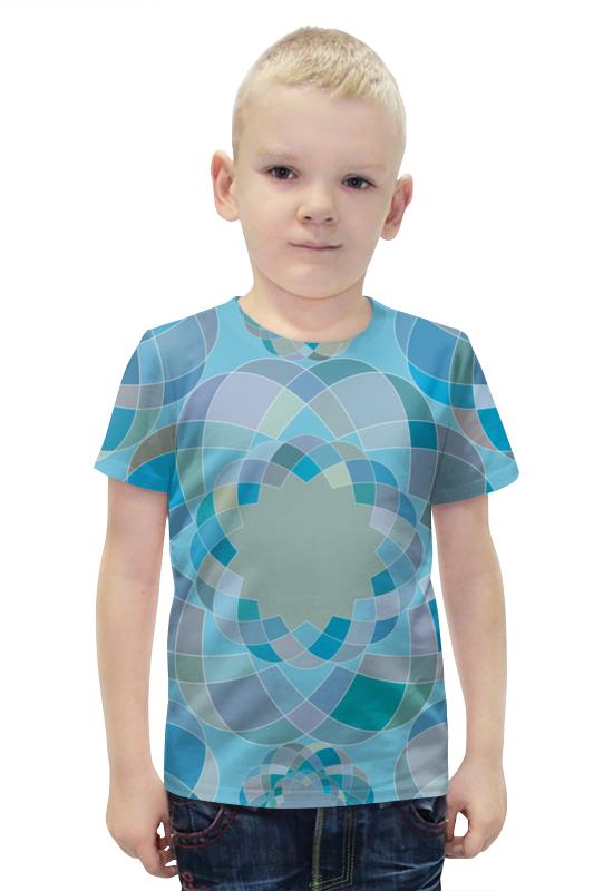 Футболка с полной запечаткой для мальчиков Printio Узор футболка с полной запечаткой для мальчиков printio bats spawn arsb