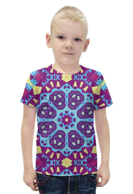 Футболка с полной запечаткой для мальчиков Printio Echofusion футболка с полной запечаткой для мальчиков printio bats spawn arsb