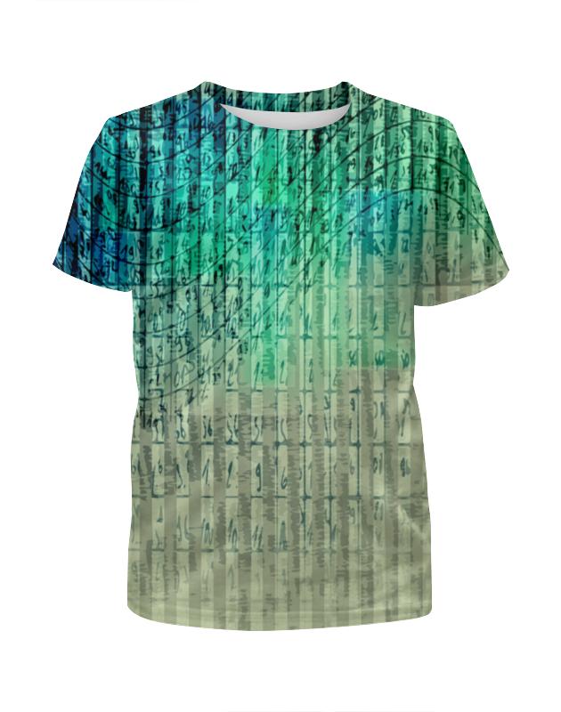 Футболка с полной запечаткой для мальчиков Printio Иероглифы футболка с полной запечаткой для девочек printio иероглифы