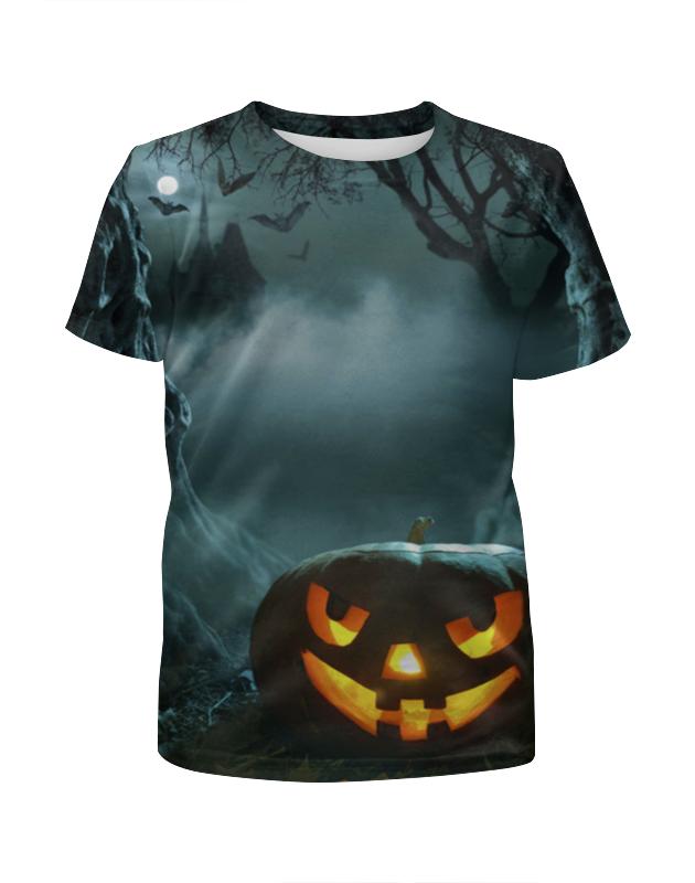 Футболка с полной запечаткой для мальчиков Printio Хеллоуин / halloween футболка с полной запечаткой для мальчиков printio ночь всех святых