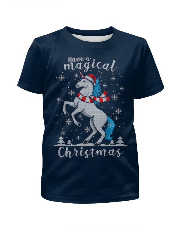 Футболка с полной запечаткой для мальчиков Printio Merry christmas футболка с полной запечаткой для мальчиков printio merry christmas and happy ny