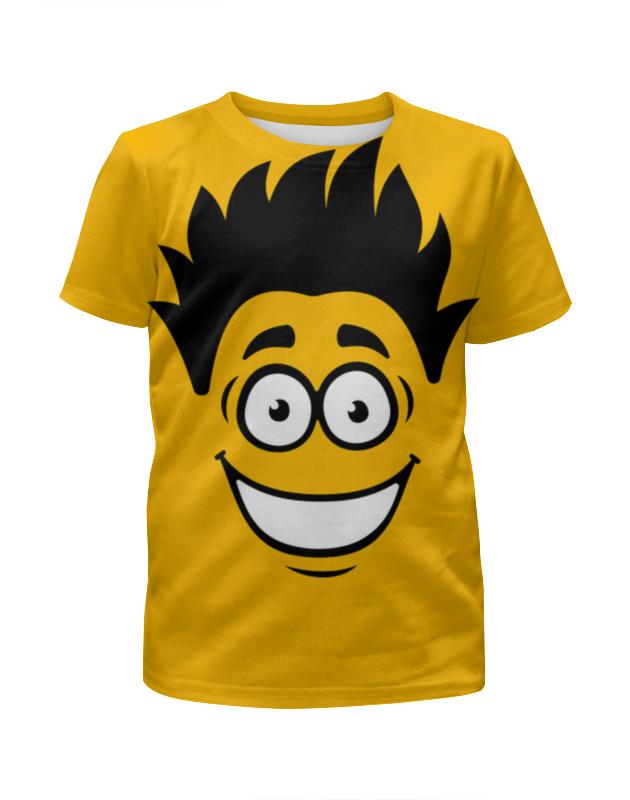 Футболка с полной запечаткой для мальчиков Printio Рожица футболка с полной запечаткой для мальчиков printio сланцы