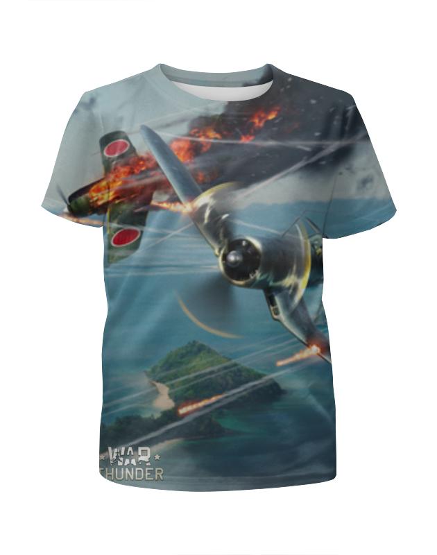 Футболка с полной запечаткой для мальчиков Printio War thunder футболка element tropical thunder ss black