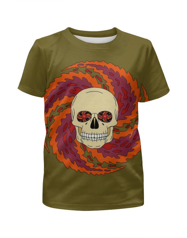 Футболка с полной запечаткой для мальчиков Printio Skull art футболка с полной запечаткой для мальчиков printio bats spawn arsb