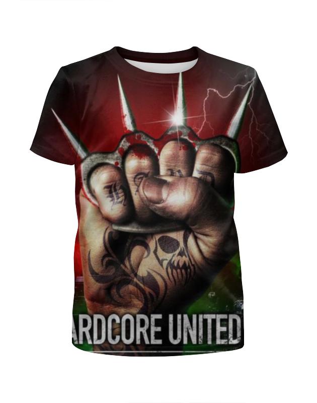 Футболка с полной запечаткой для мальчиков Printio Hardcore united iii футболка с полной запечаткой для мальчиков printio hardcore training