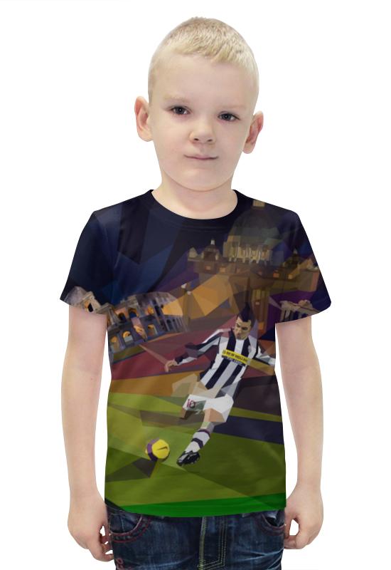 Футболка с полной запечаткой для мальчиков Printio Футбольная мозайка билеты на квн финал 19 12 09