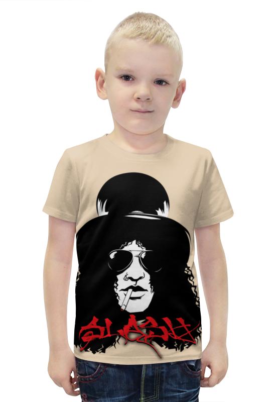 Футболка с полной запечаткой для мальчиков Printio Slash футболка с полной запечаткой для мальчиков printio bats spawn arsb