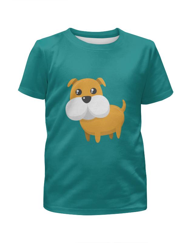 Футболка с полной запечаткой для мальчиков Printio Собачка футболка с полной запечаткой для мальчиков printio собачка