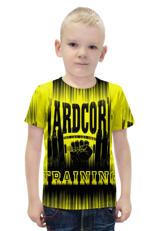 Футболка с полной запечаткой для мальчиков Printio Hardcore training!!! футболка hardcore training hardcore training ha020emqmf86